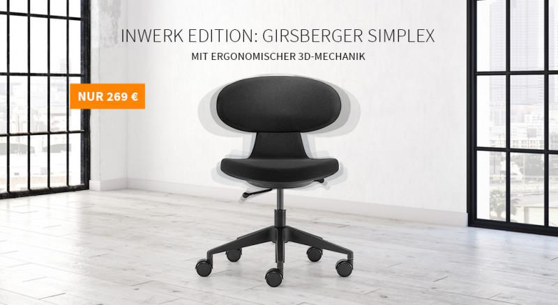 Drehstuhl Girsberger Simplex