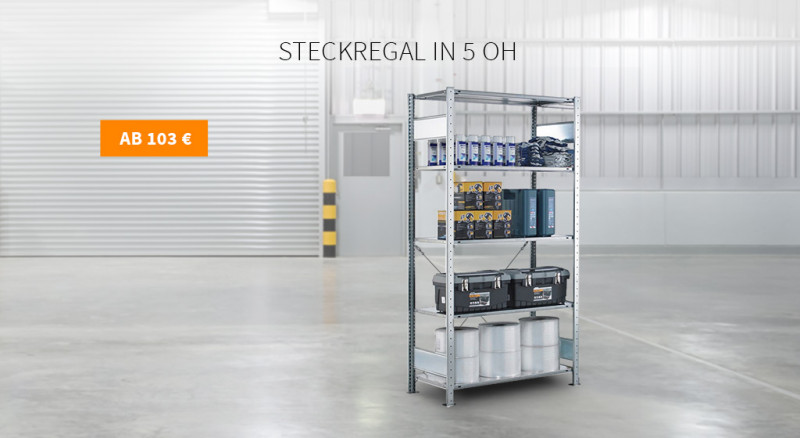 Steckregal in 5 OH