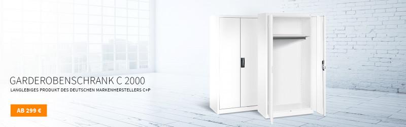 Garderobenschrank C+P C 2000