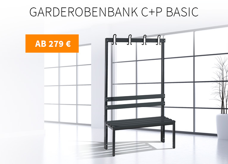 Garderobenbank C+P Basic