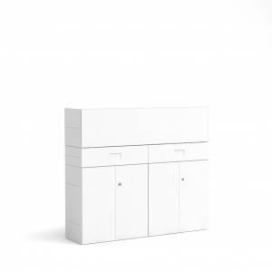 BM79063-W/Schubladenschrank-Masterbox-B-1600-x-H-1400-mm-3-O