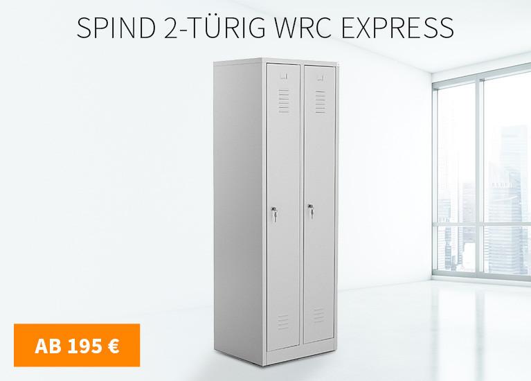 Spind 2-türig WRC Express
