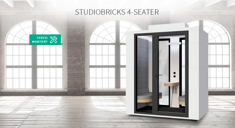 Studiobricks 4-Seater
