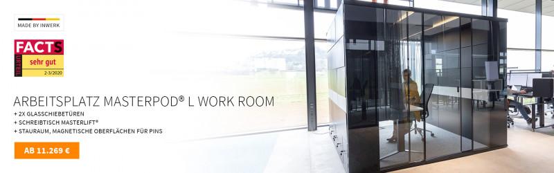 Original Masterpod® L Work Room