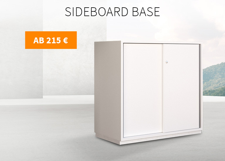 Büro Sideboard Base 2 OH