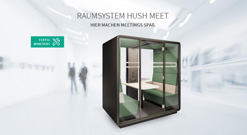 Raumsystem Hush Meet