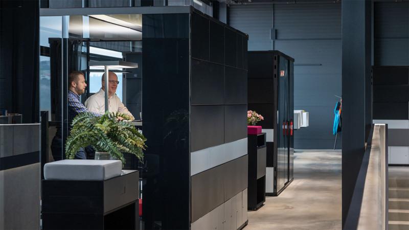 Raumsystem MasterPod® im Inwerk New Work LAB-3
