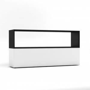BM78630-WS-offen/Sideboard-Masterbox-B-1600-x-H-800-mm-2-OH-