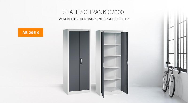 Stahlschrank C+P C2000