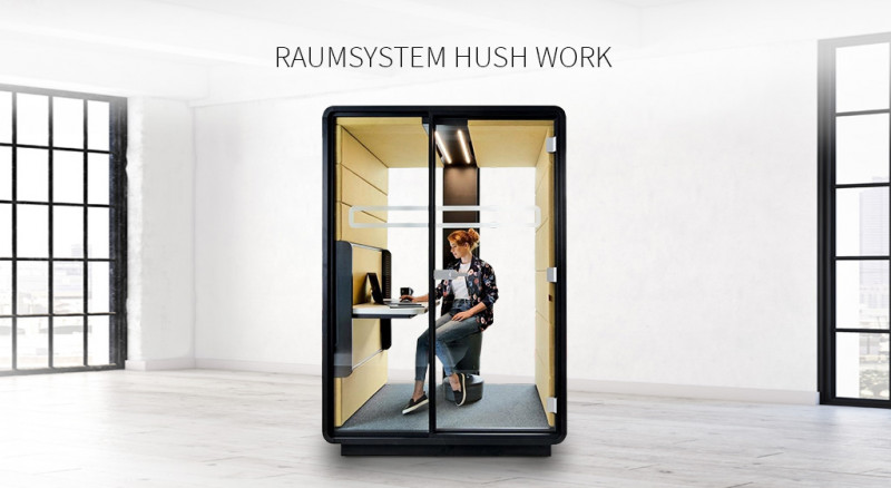Raumsystem Hush Work