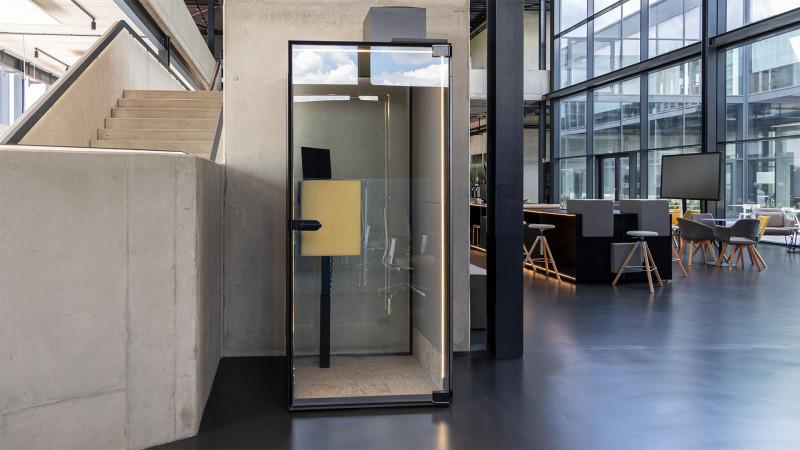 Telefonzelle Phonix® in der Inwerk Ausstellung Biebertal LAB-3