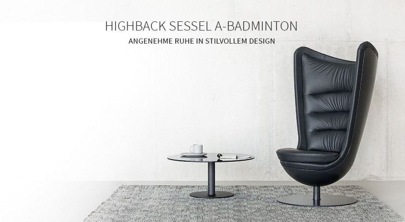 Highbacksessel A-Badminton