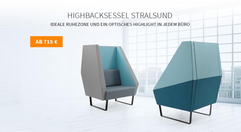 Highbacksessel Stralsund