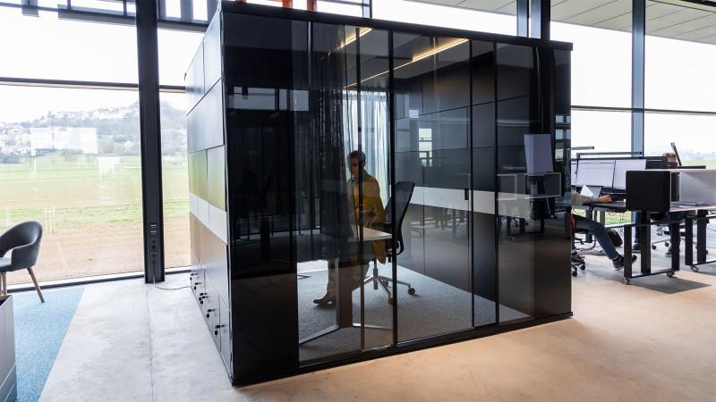 Raumsystem MasterPod® Größe L Work Room