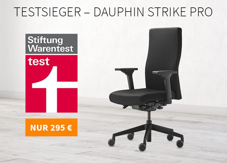 Testsieger: Dauphin Strike Pro