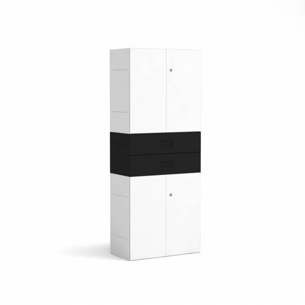 BM78995-WS/Schubladenschrank-Masterbox-B-800-x-H-2000-mm-4-O