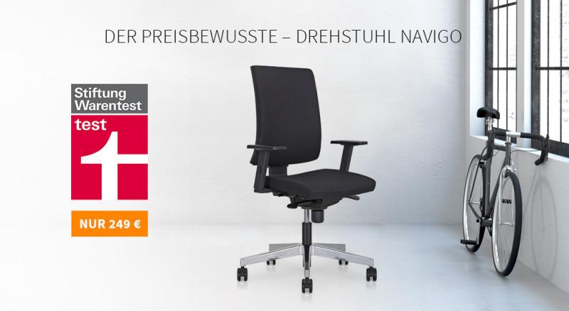 Platz 2: Drehstuhl Navigo