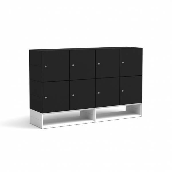BM79103-SW/Schlie�fachschrank-Masterbox-mit-Sockel-B-1600-x-