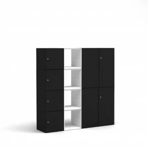 BM79055-SW/masterbox-schrank-4oh-b1600-h1600-schwarz-weiss-7