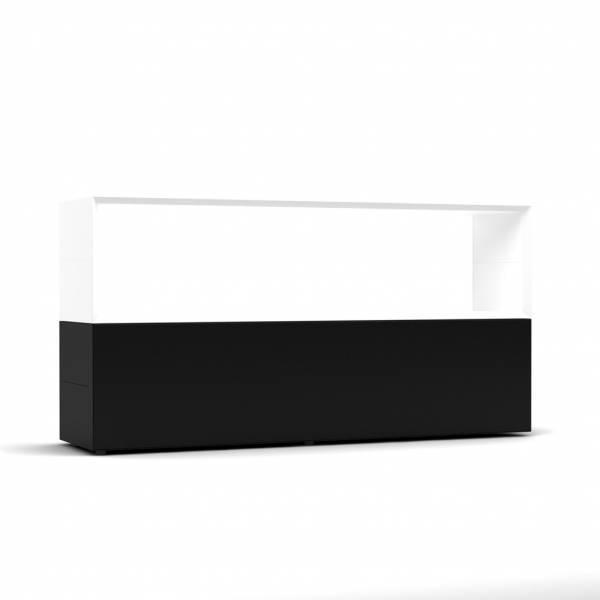 BM78630-SW-offen/Sideboard-Masterbox-B-1600-x-H-800-mm-2-OH-