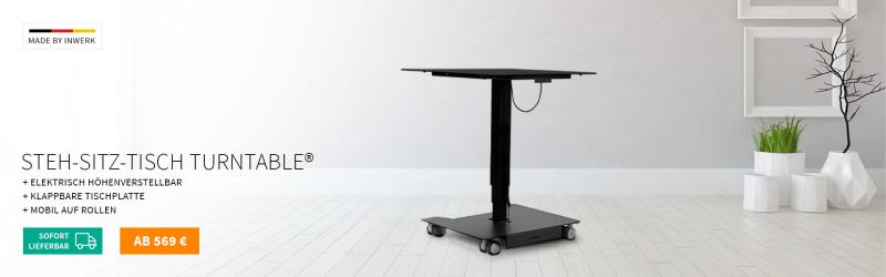 Original Turntable® Steh-Sitz-Tisch