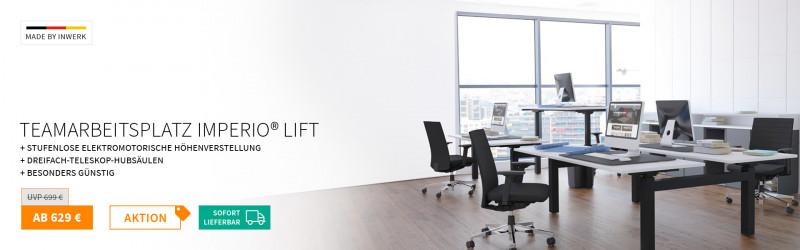 Original Imperio® Lift Teamschreibtisch
