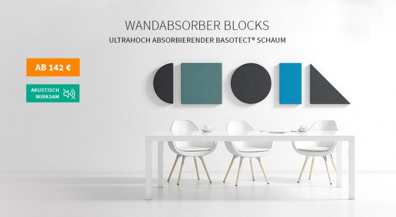 Wandabsorber Mute Design Blocks
