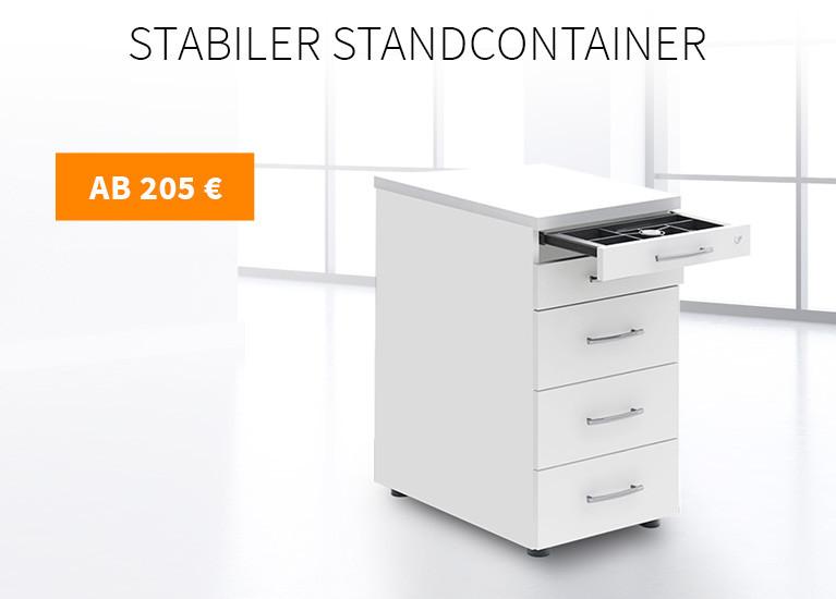 Stabiler Standcontainer