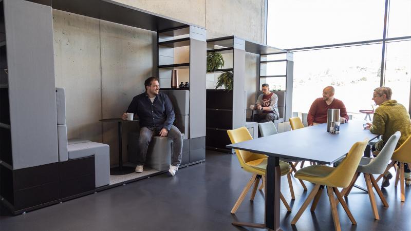 Inwerk Work Kitchen mit MasterPod® S Talk Zone