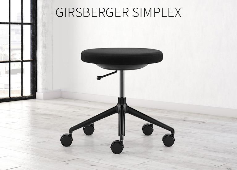 3D-Hocker Girsberger Simplex