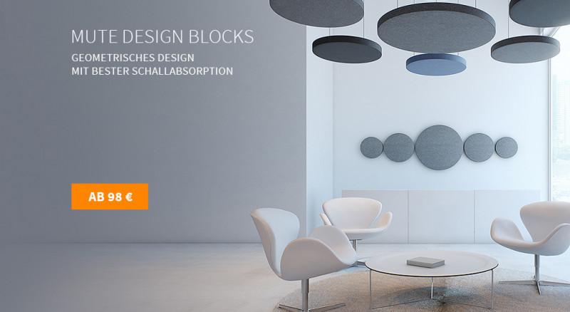Deckensegel Mute Design Blocks